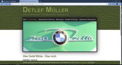 Detlef Müller - Restaurierung historischer Fahrzeuge