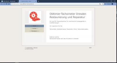Oldtimer-Tachometer
