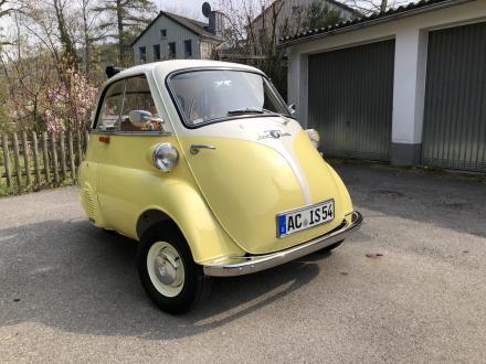 Isetta Diebstahl in Aachen und Gemmenich (Niederlande)