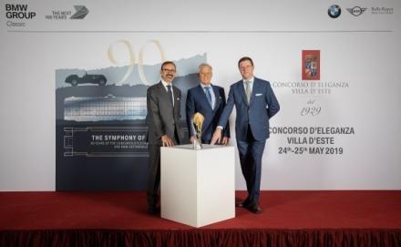 BMW Group Classic, Grand Hotel Villa d'Este und BMW Group Italia informieren Medienvertreter in der Mailänder Scala über das Programm und das Teilnehmerfeld des diesjährigen Schönheitswettbewerbs für historische Fahrzeuge – Klassiker-Parade am Co