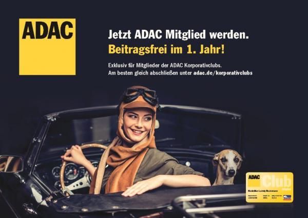 Exklusiv für Mitglieder der ADAC Korporativclubs!